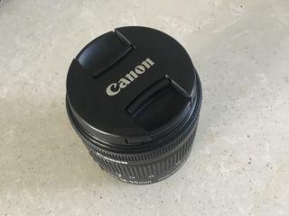 Obiectiv Canon 18-55 mm 55 euro