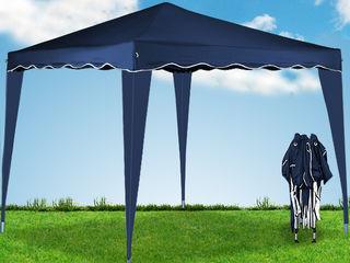 Шатер - Павильон 3х3 м., складной павильон, садовая палатка синяя