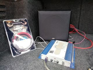 Буфер + усилитель Renegate USA 1000w + провода за 2100 лей
