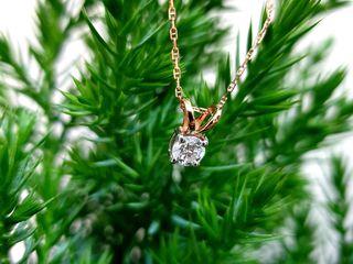 Colier Diamant 0.40Ct