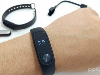 Xiaomi Mi Band 2 - Фитнес браслет/Умные часы (Супер цена) цветной браслет + пленка в подарок!