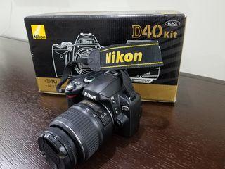 Nikon D40 в хорошем состоянии, пробег 13270