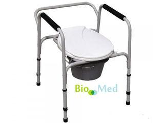 4 in 1 scaun wc cadru sprijin, inaltator wc si scaun pentru dus reglabil cтул туалет, душ cиденье