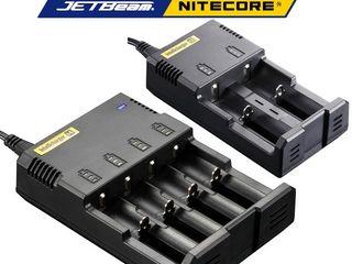 Универсальное зарядное устройство Nitecore Intellicharger i2 i4 d2 d4.