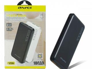 Power Bank  Awei P28K 10000 mAh Black 100% оригинал