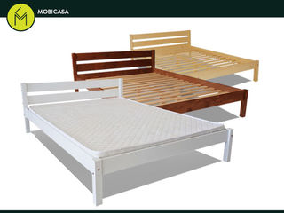 De ce să plăteşti mai mult?! Alege patul Ara din lemn!