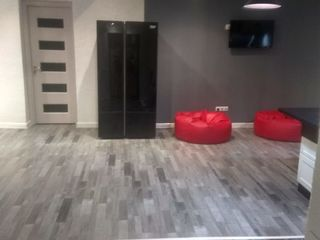 г.Бендеры, отличная квартира-студия, евроремонт, мебель, 3 комнатная сделана из 4 комнатной