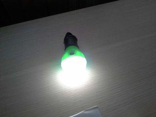 """""""Лампочка"""" для освещения палаток, шатров / фонарик туристический подвесной."""