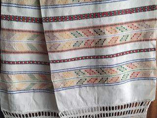 рушники 60х годов, дорожка , Домотканое льняное полотно