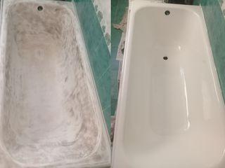 Реставрация ванн. restaurarea cazilor de baie.