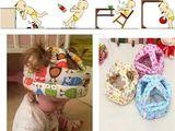 Мягкие защитные шлемы для малышей, которые учатся ползать, ходить.