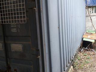Морской контейнер 20-ти футовый утеплённый