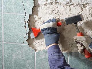 Демонтаж стен , слом перекрытий, снос перегородок ( Кишинев и Молдова )