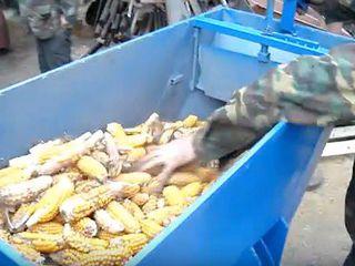 Измельчитель кукурузы в початках и зерна