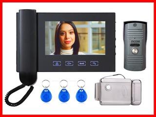Большой выбор Видеодомофонов, Продажа, Установка, Настройка, Обслуживание, Гарантия.