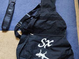 Чехол  для  Акустической гитары SX + ремень с лого.