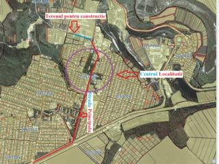 Teren constructie Ciorescu mun. Chisinau - 10km. Urgent!!!