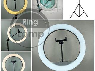 Для детей, Tik-Tok кольцевая лампа 30 см  +штатив 2,1м +подарок