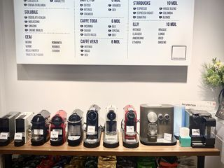 Nespresso, DolceGusto, a Modo Mio, Lavazza... boabe, cafea, macinata