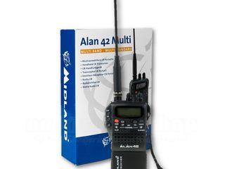 Statie radio CB Midland Alan 42 Plus - 10W (mobila / portabila)