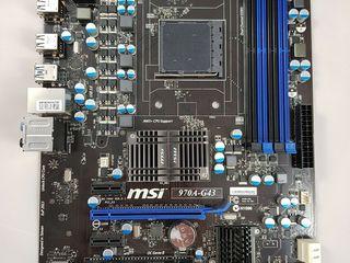 MSI 970A-G43 AM3 + AMD FX6350 (сокет AM3+)