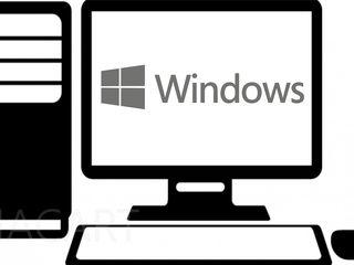 Установка Windows и программ -  от 150 лей - На дому и в офисе
