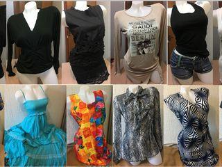 Новые и б/у вещи - ХS, S, М, L! Все платья до 300л.! Пиджаки по 300л. Джинсы, брюки от 100л. до 390л