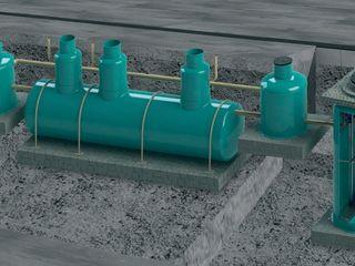 Станции очистки сточных вод в Молдове. Автономная канализация.