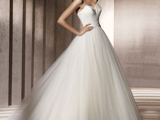 Шикарное свадебное платье pronovias,модель barbate, испания  прокат, продажа