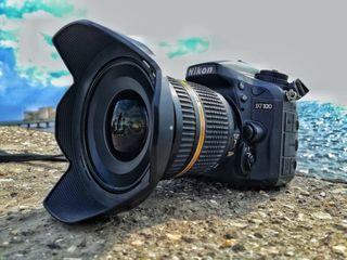 Nikon d7100 с 3 объективами и т.д