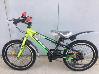 Bicicleta pentru copii din aluminiu adusa din germania noua schimano