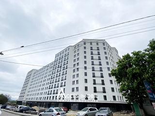 Inamstro! str. Ioana Radu, Buiucani, 2 camere + living. Variantă albă! Bloc 1!