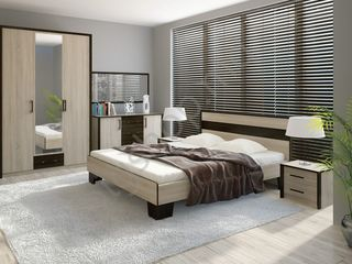 Dormitor Sokme Scarlet, posibil in rate, livrare gratuita, pret accesibil