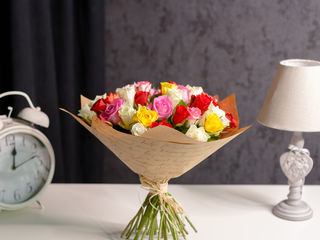 Trandafiri multicolori la cel mai bun pret