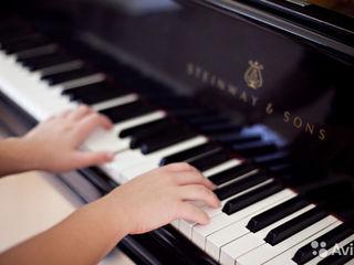 Уроки фортепиано/Lectii de pian