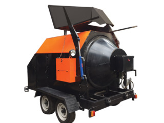 Рециклер Асфальта RA-800 мини асфальтный завод