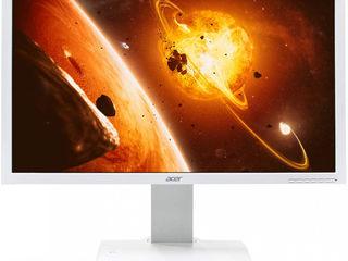 "Monitor ""Refurbished"" Acer B243HL White din Germania cu garanție la cel mai bun preț din Moldova!"