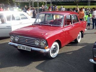 Moskvich 408. anul 1965