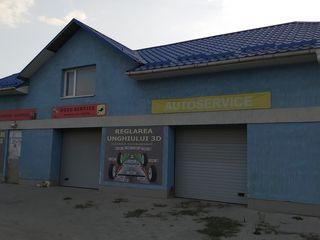 Производственно-комерческое здание на трассе Кишинев Унгены,развилка Трушены