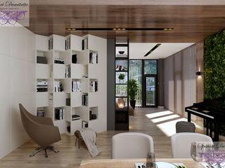 Design interior living-sufragerie stil contemporan!