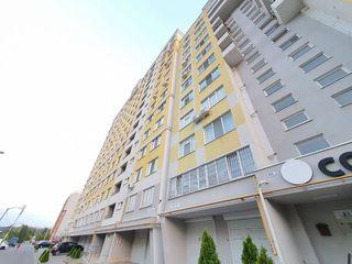 Vind apartament în bloc nou, situat în sectorul Buiucani, 2 camere separate + living spațios,75 m2