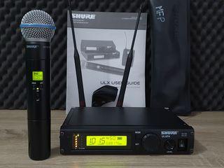 Shure ULXP24 Beta 58A Microfon vocal profesional. Made in Mexico! Frecvente bune (662-698MHz)