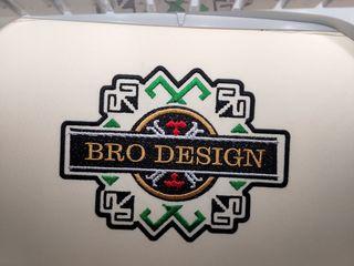 Broderie de calitate: personalizăm diferite suporturi textile / качественная вышивка