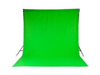 Хромакей 100% хлопок! Самое лучшее качество для фото, видео съемок, прямых эфиров и т.д