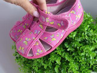 Papucei pt gradinita floare