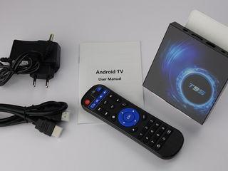 TVBox T95 Android10 - 2/16 YouTube pe Televizor/Livram/Garantie 12 luni