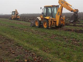 Servicii de excavare , defrisare, nivelare, incarcare, demolare... +tva : jcb 3 cx, jcb 4cx