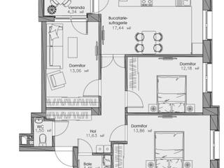 Продается 3 комнатная квартира! 77,73! Ботаника!