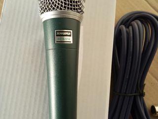 Microfoane Noi!!! Shure Bbeta 57A---50Hz-16kHz Sunet curat