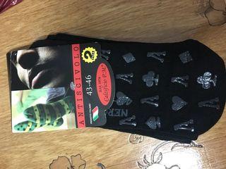 Ciorapi calzi cu antilunecare, naturali, calitativi, Italia, 100 lei setul de 2 perechi.  alt set de